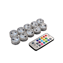 New MIini RGB color led remote control lights