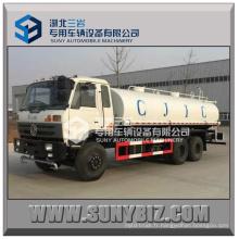 Camion de réservoir d'eau du moteur CUMMINS de réservoir de l'eau 18m3