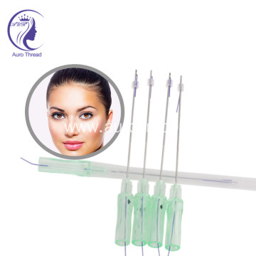 PDO Thread Facial Lift Double Needle