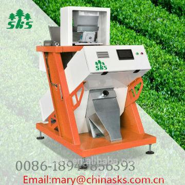 Máquina inteligente del clasificador del color del té de la imagen con el nuevo software actualizado