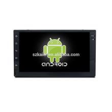 Núcleo Octa! Dvd do carro do android 7.1 para universal (dourado) com a tela capacitiva de 7 polegadas / GPS / ligação do espelho / DVR / TPMS / OBD2 / WIFI / 4G