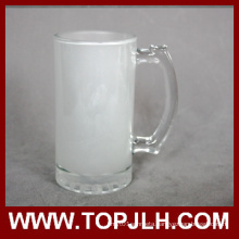 EXW Price Blank 16oz Frosted Glass Beer Mug
