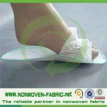Tissu non tissé en polypropylène pour pantoufles jetables