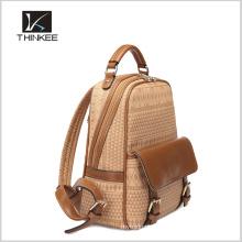 Mochila escolar europea / mochila escolar a medida / mochila de cuero para niñas