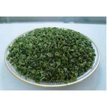 Granulado verde deshidratado del pimiento verde nuevo