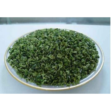 Grão novo verde desidratado da pimenta de Bell da colheita