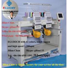 Elucky computerized embroidery machine similar to Tajima embroidery machine