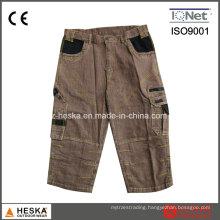 Custom Cotton Short Work Wear Men Jeans Pants