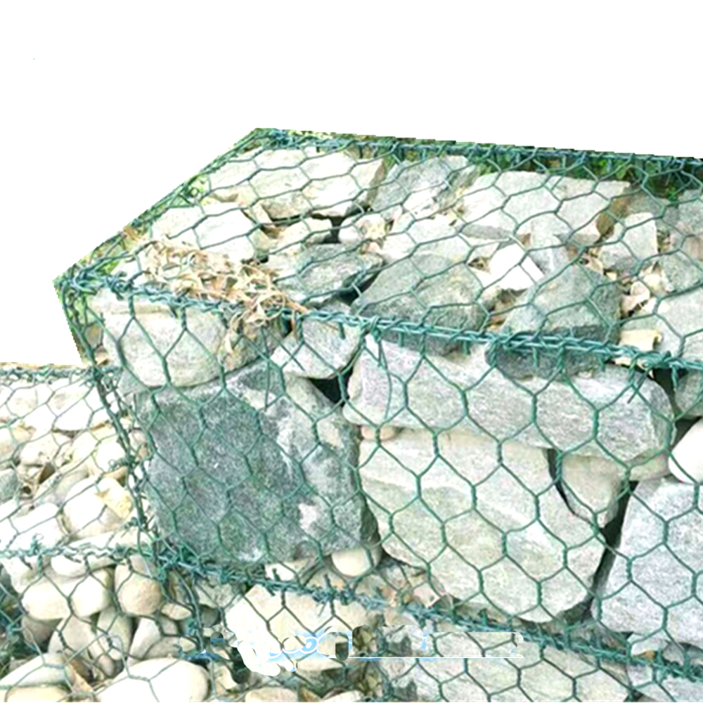 PVC Coated Steel Wire Mesh Gabion BOX