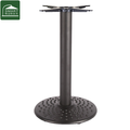 outdoor use metal cast iron table leg
