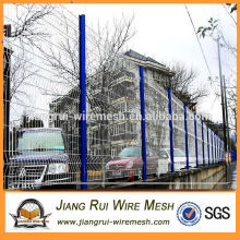 China manufacture plastic coated 3D bending fence/garden folding wire fence