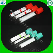 Tube de collecte de sang stérile