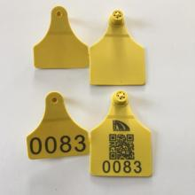Best quality and factory for Green Cattle Ear Tag cow ear tag with laser printing cattle tag export to Andorra Factories