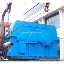 Caja de engranajes helicoidales industriales de servicio pesado