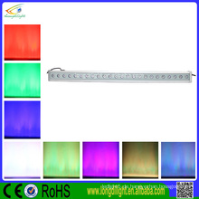 Heiße verkaufende Produkte IP65 24x1w LED lineare Wand-Unterlegscheiben-Licht