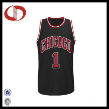 Großhandelsheißer Verkaufs-Zahl-Drucken mans Basketball-Jersey