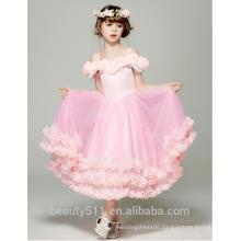 adult size baby girl dress off-the-shoulder scoop neckline sleeveless baby dresses ED762