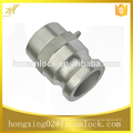 """Aluminum camlock coupling, size from 1/2"""" to 8"""", manufacturer"""