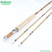 8ft 2piece 5wt Split Bambus Fliegen Rod