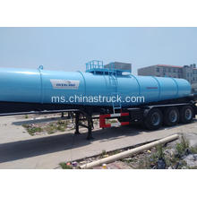 3 axle 20cbm sulfate semi trailer