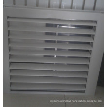 Waterproof Fixed Aluminum Frame Louver Window for Toilet