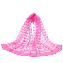 2016 Neuer Entwurfs-reiner Silk Schal für Frauen-Verpackungs-Schal