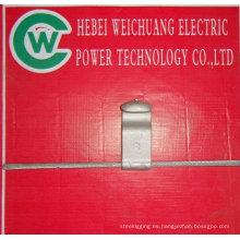 alambre de acero galvanizado por vibración utilizado para ADSS