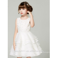 girl dress kids gown scoop neckline sleeveless sexies girls in hot night dress ED786