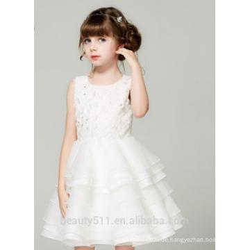 Mädchen Kleid Kinder Kleid Schaufel Ausschnitt ärmellosen Sexies Mädchen in heißen Nachtkleid ED786