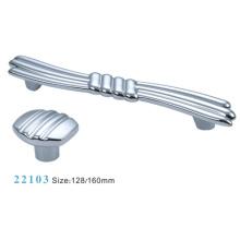 Muebles Accesorios Mango de gabinete de aleación de zinc (22103)