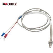 3 three wire thermal resistance wzp pt100 temperature sensor thermocouple