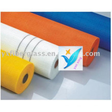 5mm * 5mm 140G / M2 Wall Reforcing Glass Fiber Mesh