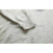 высокое качество мужской кашемировый свитер с застежкой-молнией