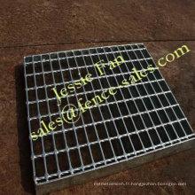 1 grille en acier galvanisé