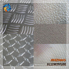 1000 Series Competitive Price diamond shaped embossed aluminum sheet