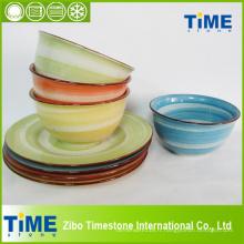 Vaisselle en céramique de dîner de porcelaine (ZQ14082603)