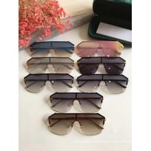 Óculos de sol sem aro reflexivo óculos de proteção para senhoras