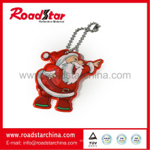 Customized promotional reflective key ring gifts