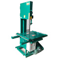 Vertical environmental band saw blade brick cutting machine
