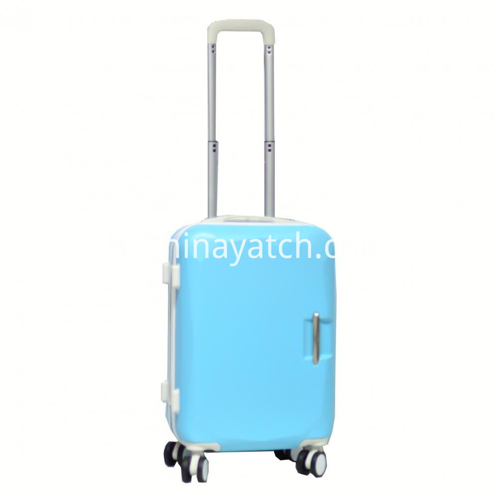 Bright Contrast Color ABS Luggage