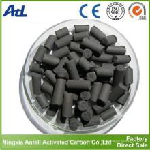Granulés de charbon actif pour COV