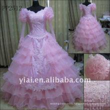 PP2512 Оптовая Бесплатная доставка бисером Русалка вечернее платье 2011