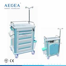 АГ-ET012B1 передачи больницы передвижные закрытые ABS материала медицинской тележки