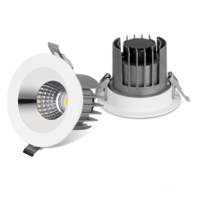 Smd cob adjustable ceiling recessed 8in 3000k 20w 30w 40w led downlight with tuv ce rohs saa