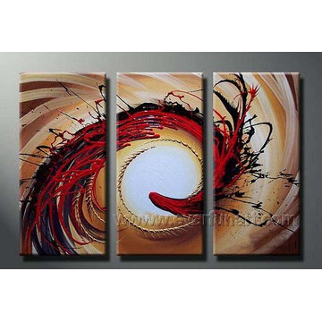 Modern Wall Decorative Abstract Canvas Art for Bedroom (XD3-119)