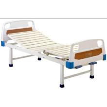 Cama de paciente cama de hospital móvil completa con cabeceras de ABS