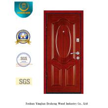 Puerta de acero de seguridad estilo chino para la entrada (L2-1002)
