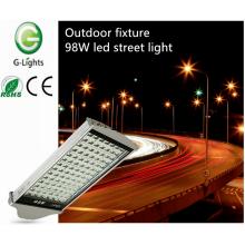 Dispositivo elétrico ao ar livre 98W conduziu a luz de rua