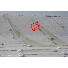 Geomembrana impermeável de grande resistência de Geocomposite do HDPE para a tampa da fundação