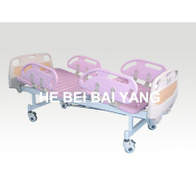a-86 Movable Double-Function Manual Hospital Bed